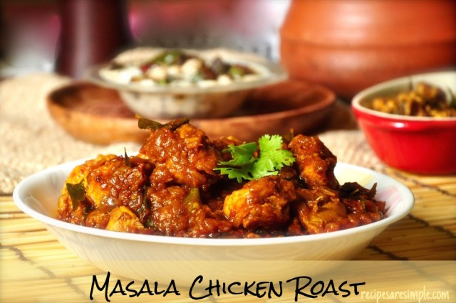 masala roast chicken