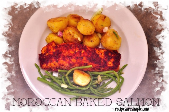 MOROCCAN BAKED SALMON