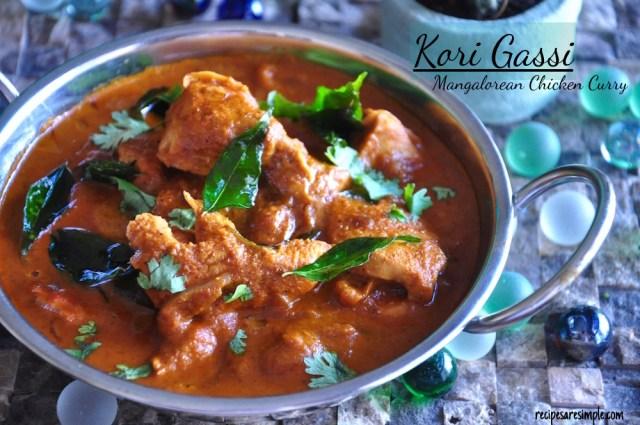 kori gassi | Mangalorean Chicken Curry