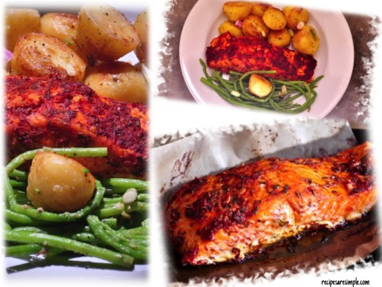 moroccan baked salmon how to make