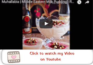 Muhallabia | Light Middle Eastern Milk Pudding youtube video