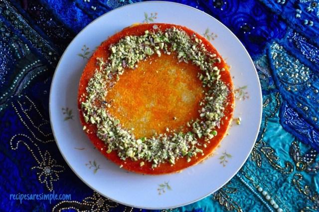 kunafa recipe