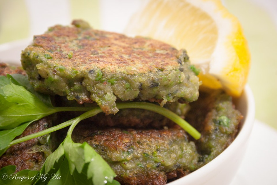 Chickpea and Green Pea Falafel-3