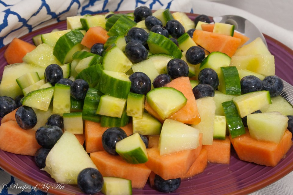 Easy Summer Melon Salad-3