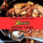 Reeses Spoon Cake