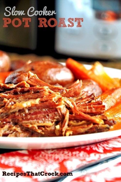 Pot Roast Recipe Slow Cooker