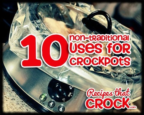 NonTraditional Slow Cooker uses