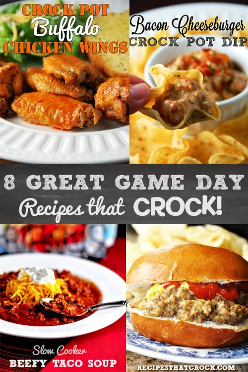 Crock Pot Game Day Recipes