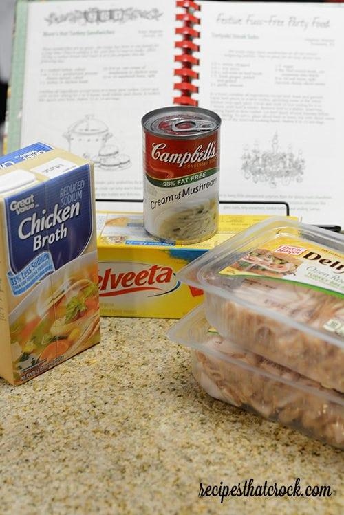 Crock Pot Turkey Sandwiches