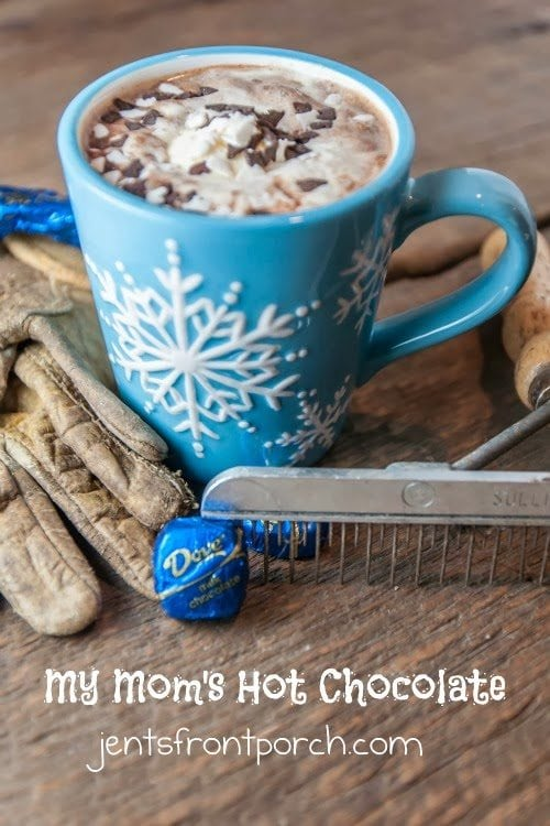My Mom's Dove Hot Chocolate Recipe