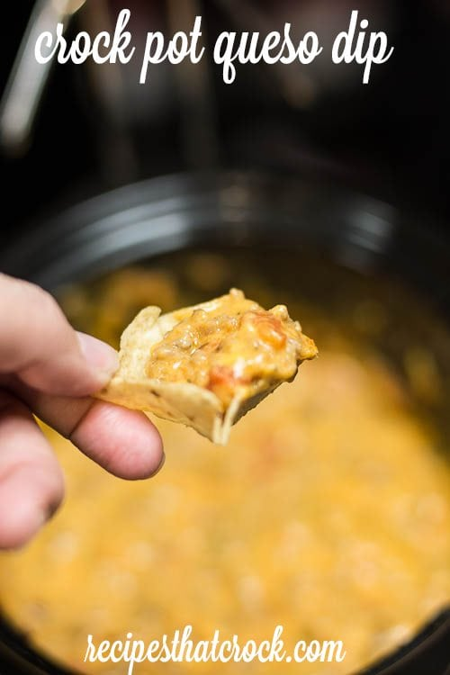 Crock Pot Sausage Cheese Dip: Our go-to slow cooker queso dip.