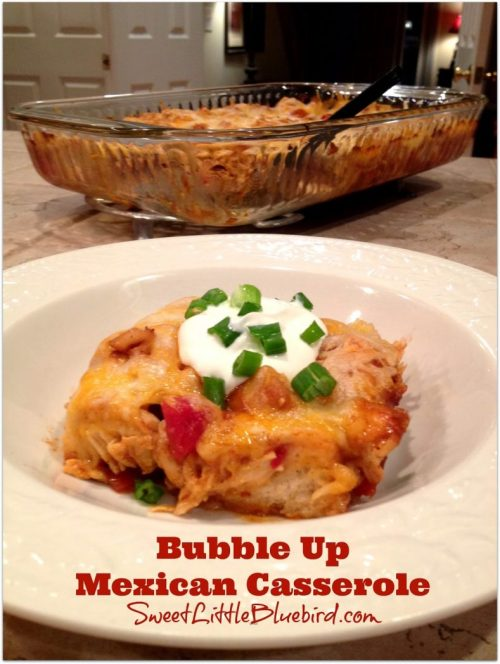 bubble up mexican casserole 1