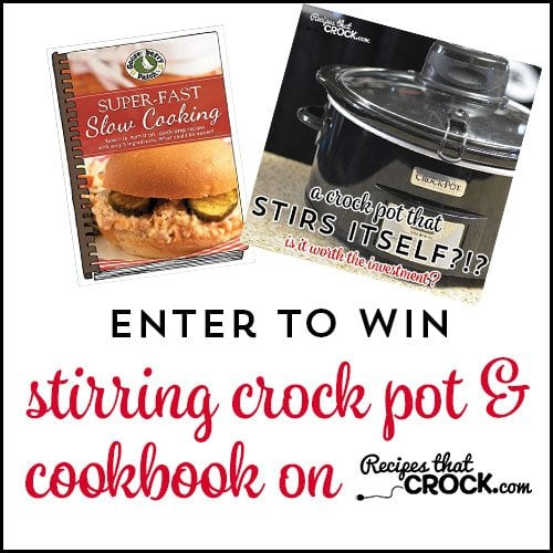 Enter to win an Automatic Stirring Crock Pot and an @GooseberryPatch cookbook