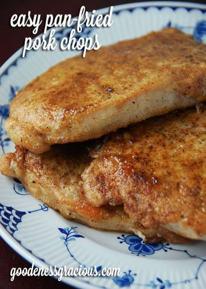 Easy-Pan-Fried-Pork-Chops