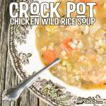Crock Pot Chicken Wild Rice Soup