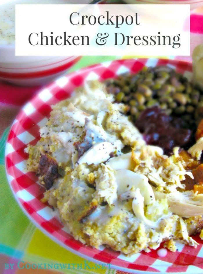 Crock Pot Chicken and Dressing