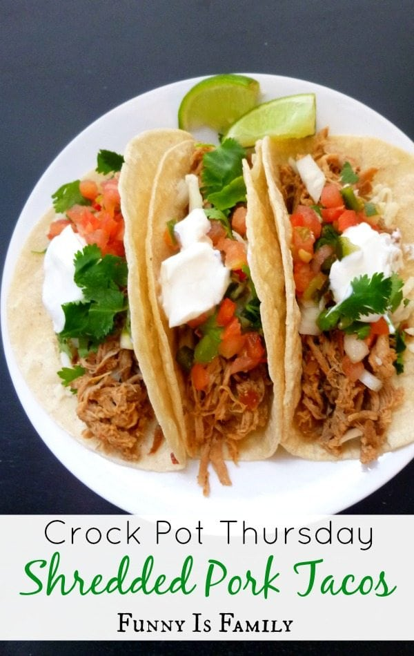 Crock Pot Pork Tacos