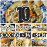 10 Recipes to Make with a Pack of Chicken Breasts