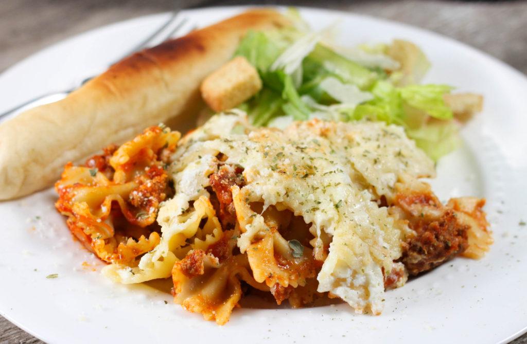 Crock Pot Lasagna Casserole