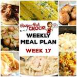 Meal Planning: Weekly Crock Pot Menu 17 (plus Weekly Chat)