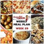 Meal Planning: Weekly Crock Pot Menu 29