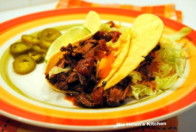 Mexican Pot Roast Tacos