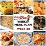 Meal Planning: Weekly Crock Pot Menu 30