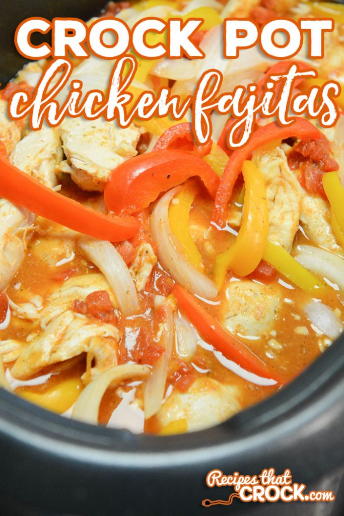 Are you looking for an easy recipe to make Chicken Fajitas at home? These Crock Pot Chicken Fajitas are super simple to throw into your slow cooker and very tasty.