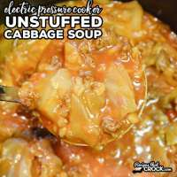 Are you looking for good Instant Pot recipes? Our Unstuffed Cabbage Soup Electric Pressure Cooker Recipe is one of our favorite soups to make in our Instant Pot.