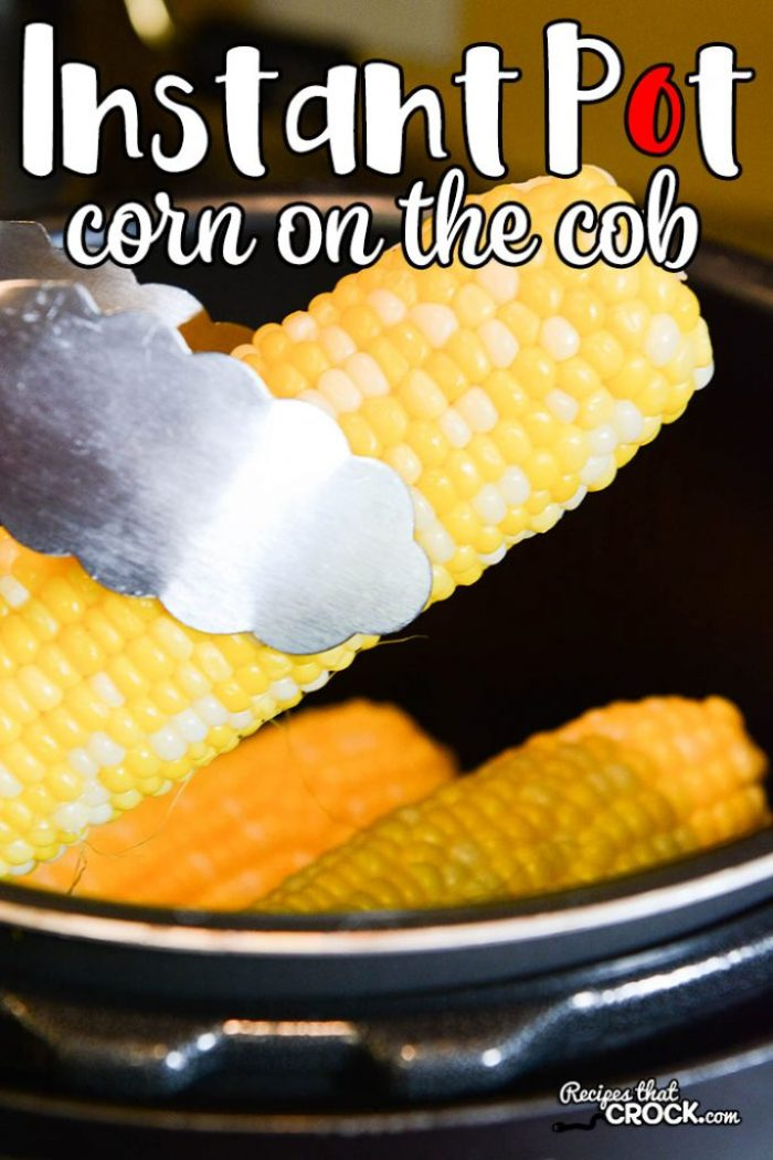 Are you looking for some easy Instant Pot Recipes? Our Instant Pot Corn on the Cob is incredibly simple to make and one of our favorite electric pressure cooker recipes.