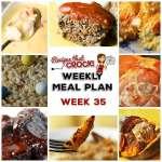 Meal Planning: Weekly Crock Pot Menu 35