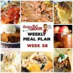 Meal Planning: Weekly Crock Pot Menu 38