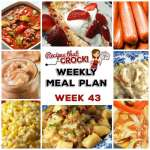 Meal Planning: Weekly Crock Pot Menu 43