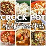 This week for our Friday Favoriteswe have some yummy Crock Pot Chili Recipes likeCrock Pot Three Bean Pork Chili,Crock Pot Double Meat Chili,Crock Pot White Chicken Chili,Crock Pot Chili Vegetable Ranch Hand Soup,Easy Crock Pot Chili,Crock Pot Hamburger Chili,Meat Lover's Crock Pot Chili,Crock Pot Chili andCrock Pot Chili Soup.