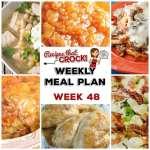 Meal Planning: Weekly Crock Pot Menu 48