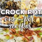 This week for our Friday Favoriteswe have some yummy One-Pot Crock Pot Recipes like One Pot Crock Pot Chicken Dinner,Crock Pot Bacon Broccoli Chicken,Crock Pot Sausage, Green Beans and Potatoes,Crock Pot French Onion Beef Casserole,Crock Pot One-Pot Chicken Casserole andCrock Pot Farmers Pie.