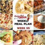 Meal Planning: Weekly Crock Pot Menu 55