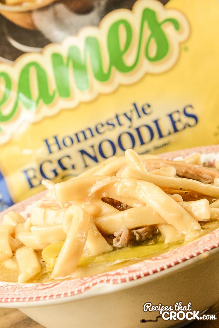crock pot mississippi chicken noodles  recipes that crock