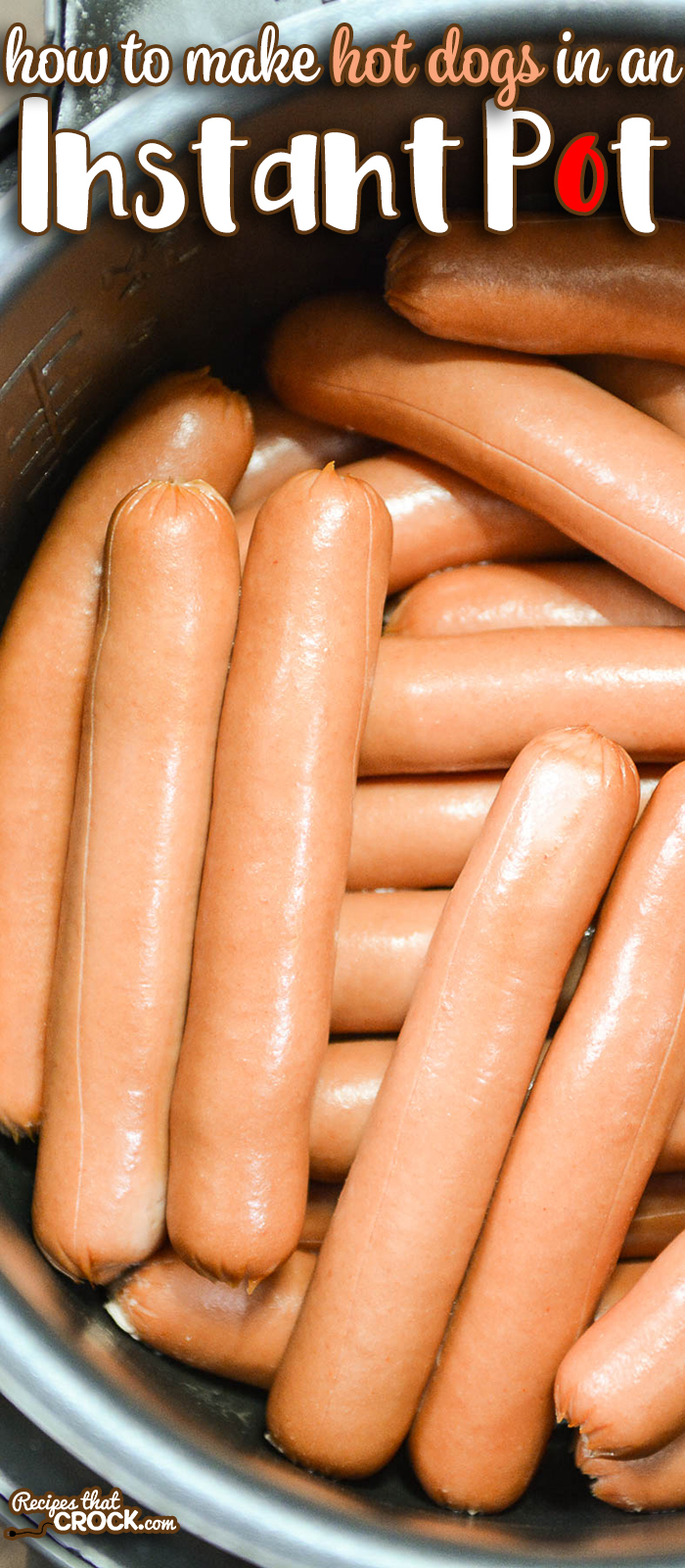 Cooking Instant pot hot dogs in bulk is very easy. Learning how to use an electric pressure cooker to steam hot dogs is a great tip for parties and potlucks.