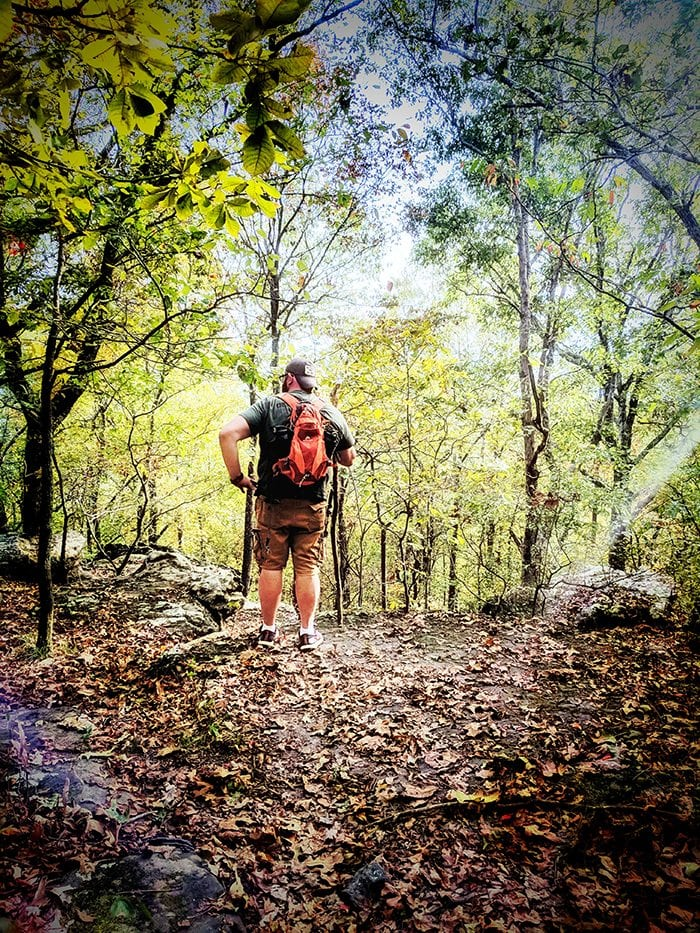 Millstone Bluff Hike in Shawnee National Forest