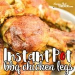 Are you looking for quick and easy instant pot recipe for chicken legs? Instant Pot Chicken Drumsticks recipe is so flavorful and perfect for that off-the-grill taste! Looking for a low carb option? Use our Low Carb BBQ Sauce to make this a delicious low carb crock pot meal.