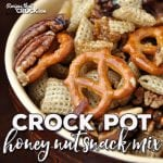 This Crock Pot Honey Nut Snack Mix is sweet with just a hint of salty. Better yet, it is super easy to make! It is sure to be a hit at any party or just to have around the house!