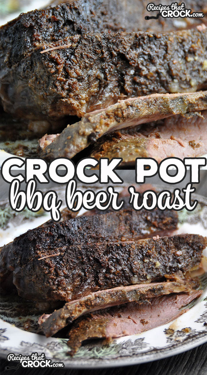 If you are looking for a quick, easy and tender roast recipe, then I have you covered! This Crock Pot BBQ Beer Roast is all three!