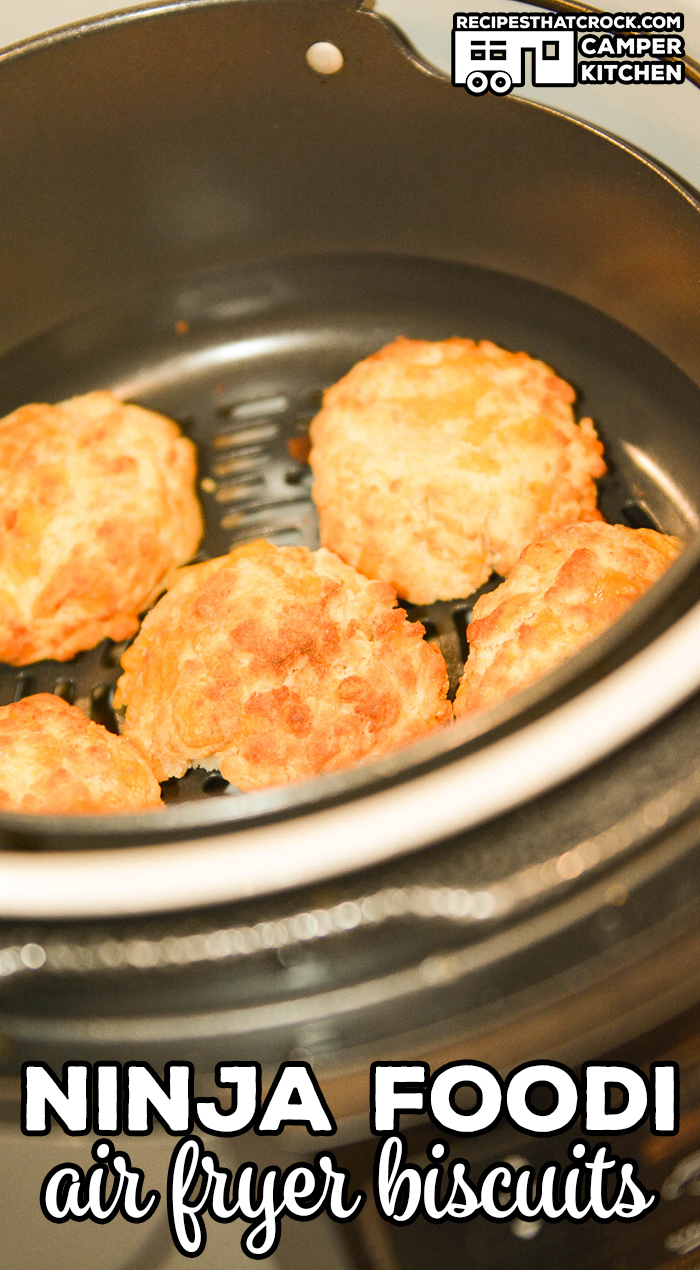 Are you looking for Ninja Foodi Recipes? We are showing you How to Make Biscuits in the Ninja Foodi or other Air Fryer.