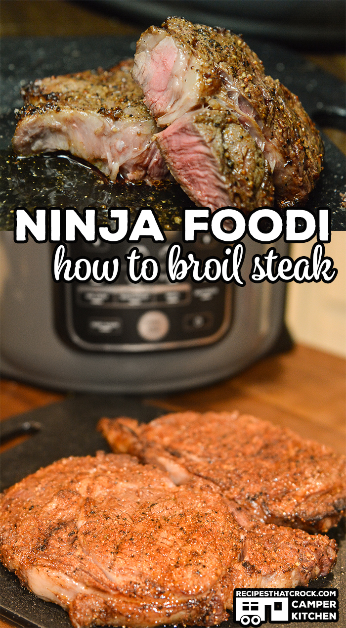 Are you wondering how to cook steak in your Ninja Foodi? We love broiling steak in the Ninja Foodi! It is the perfect way to make a great steak when you can't grill out!