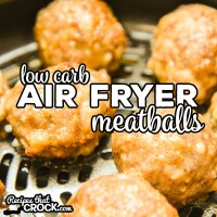 Our Low Carb Air Fryer Meatballs produce a delicious savory sausage based meatball every time! We love these meatballs on their own, in marinara sauce and in soups.