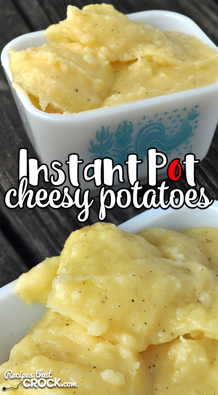 Quick, easy and tastes just like Momma's! Are you intrigued? This Instant Pot Cheesy Potatoes recipe is all three of those! So yummy! You'll love them!