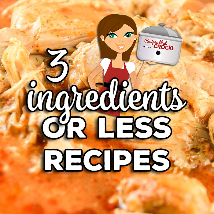 These are all 3 Ingredients or Less Recipes. Hopefully, you'll find some that have ingredients you have in your kitchen from these mains, sides & desserts!