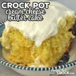 This Crock Pot Cream Cheese Butter Cake is phenomenal! It is moist, flavorful and sweet. Whoever you serve this to will swoon! Guaranteed!