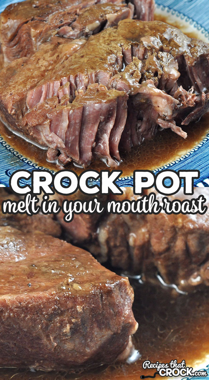 If you are looking for a super easy recipe that tastes divine, look no further! This Melt in Your Mouth Crock Pot Roast is just that! It is so delicious! via @recipescrock